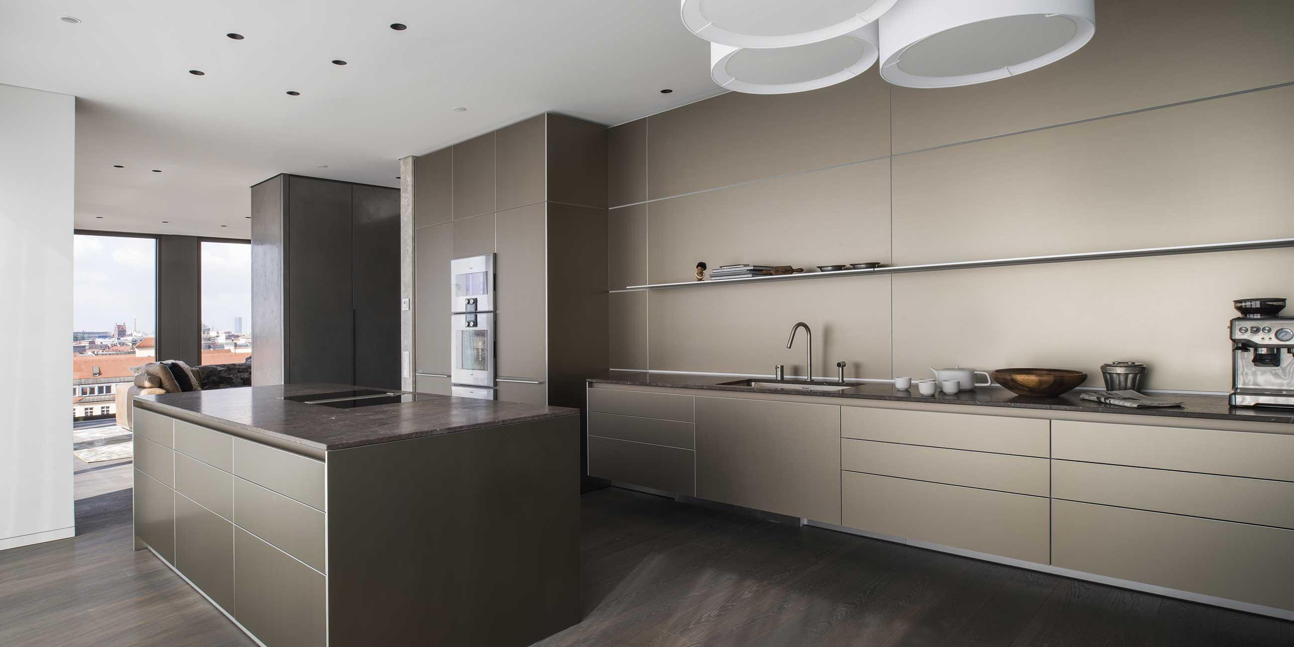 architektur in der küche – minimalistisch schön · werkhaus